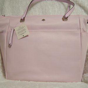 Kate Spade Jae Baby/Diaper Bag (Serendipity Pink)